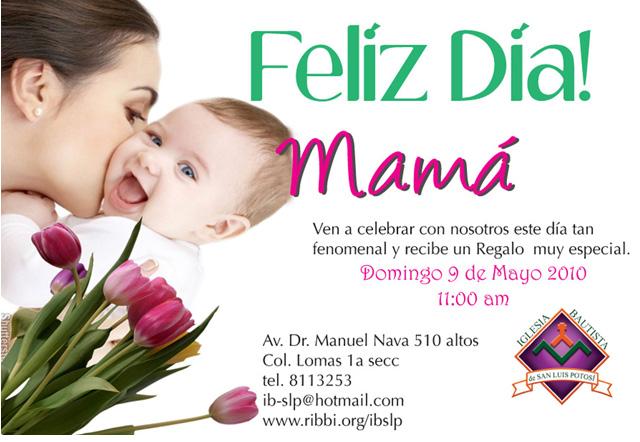 Modelos De Tarjetas De Invitación Por El Dia De La Madre